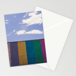 Colored Wall Stationery Cards