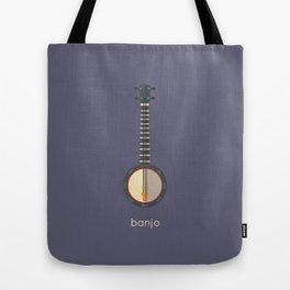Vector Banjo Tote Bag