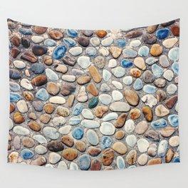 Pebble Rock Flooring V Wall Tapestry