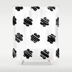 strokes Shower Curtain