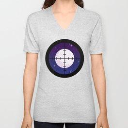 Aim for the Moon Unisex V-Neck