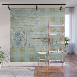 carnet de chèques Wall Mural