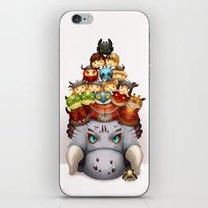 Little Dragons iPhone & iPod Skin