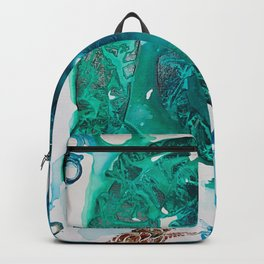 Turtle Exploring the Great Deep Blue Sea Backpack