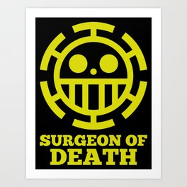 Surgeon Of Death Art Print