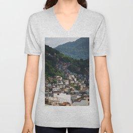 Favela - Rio - photo series Unisex V-Neck