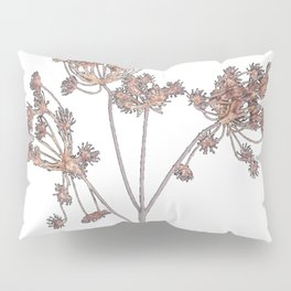 Queen Anne's Lace delicate fabric made yarn thread Pillow Sham