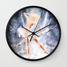 Naiad III Wall Clock