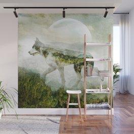 WOLF MOUNTAIN Wall Mural