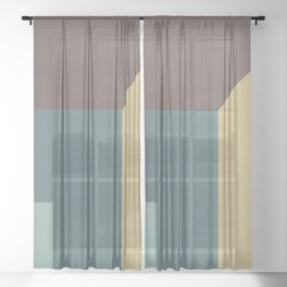 The Room Sheer Curtain