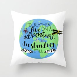 A Darker Shade of Magic Quote Throw Pillow