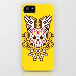Minimal Skull iPhone Case