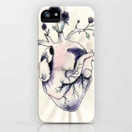 Garden of Flowers growing in my heart iPhone Case