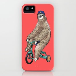 Haters Gonna Hate Sloth iPhone Case