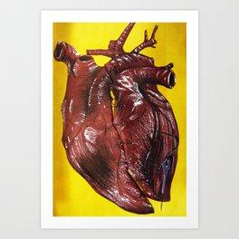 My Tattered Heart Art Print