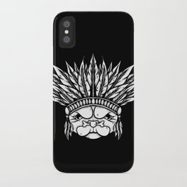 Tribal Pug iPhone Case