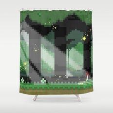 Zelda: Lost Woods Shower Curtain