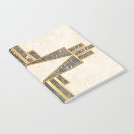 Luxurious gold and marble Notebook