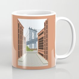 Manhattan Bridge, DUMBO, Downtown Brooklyn, NYC Coffee Mug