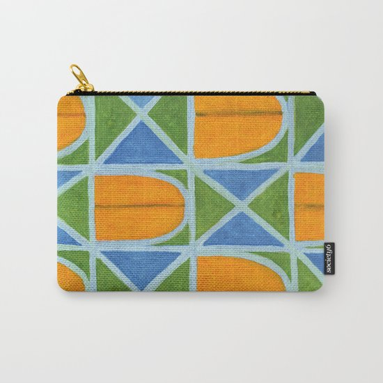 Lighted Arched Windows Pattern Carry-All Pouch