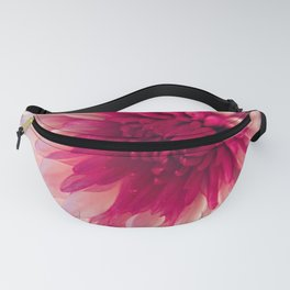 Pink Dahlia Fanny Pack