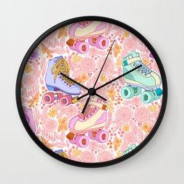ROLLER GARDEN Wall Clock