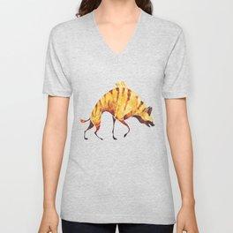 Hyena Unisex V-Neck