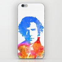 sherlock iPhone & iPod Skins featuring Sherlock by Fimbis