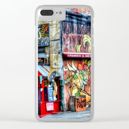 Mexican  Bar Clear iPhone Case