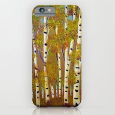 Birch trees-3 Slim Case iPhone 6s