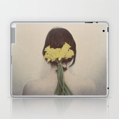 Flowers in her Hair Laptop & iPad Skin
