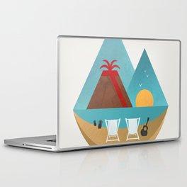 Volcano Sunset Laptop & iPad Skin