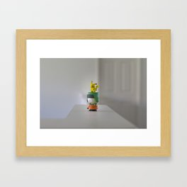 Kenny The Trainer  Framed Art Print