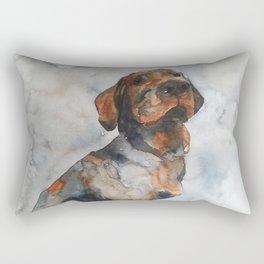 DOG #4 Rectangular Pillow