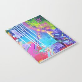 Vivid Thoughts 2 Notebook