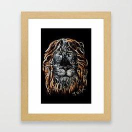 Judá Framed Art Print