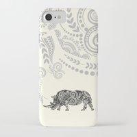 rhino iPhone & iPod Cases featuring Rhino by famenxt