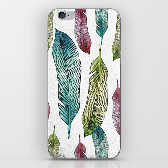 BIRDS OF A FEATHER iPhone & iPod Skin