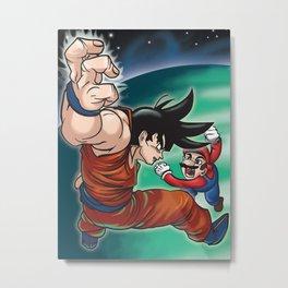 Goku for Smash Bros Metal Print