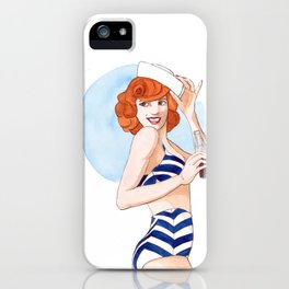 Summer is here iPhone Case