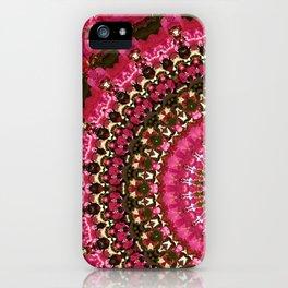 Pink Flower in Greece 2 iPhone Case