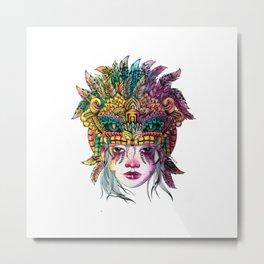 Gukumatz princess Metal Print