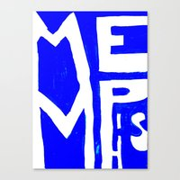memphis Canvas Prints featuring MEMPHIS by John Weeden