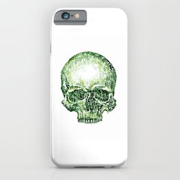Tropical Skull ! iPhone Case