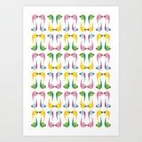 comma Art Print