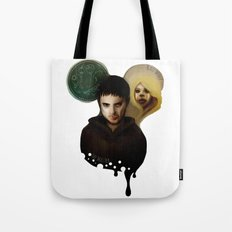 the Master & the BadWolf Tote Bag