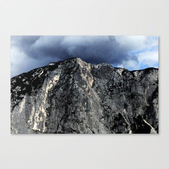 "Unbreakable ""Der Loser"" #1 #Mountain #art #society6 Canvas Print"