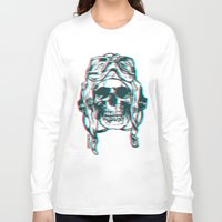 kindle Long Sleeve T-shirts featuring 200 by ALLSKULL.NET