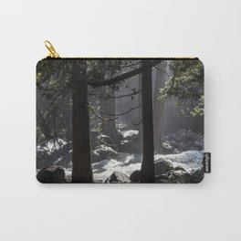 A River Runs Through Yosemite Carry-All Pouch