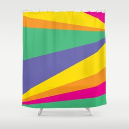 Color lighting Shower Curtain